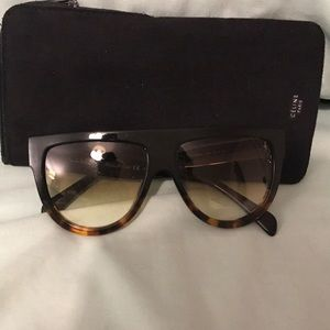 Authentic Celine Shadow Sunglasses